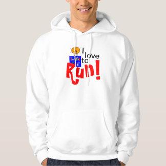 I Love to Run! Hoodie