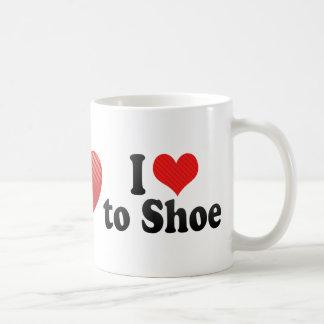I Love to Shoe Coffee Mug