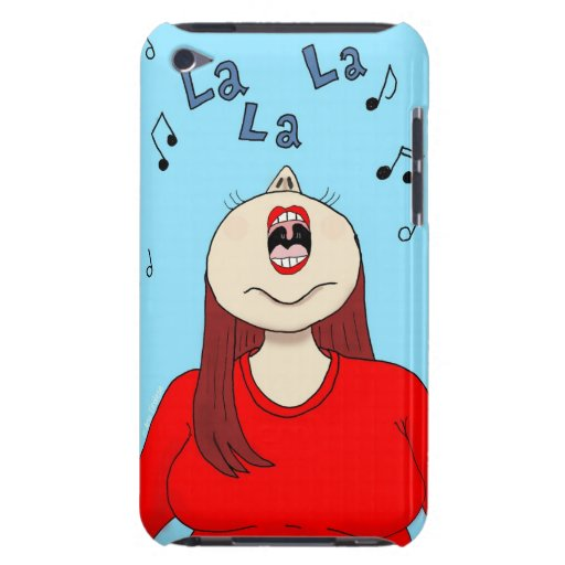 I Love to Sing iTouch Case Barely There iPod Cover