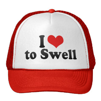 I Love to Swell Mesh Hat