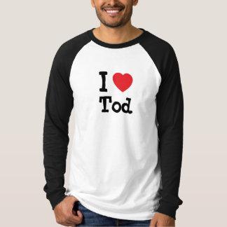 I love Tod heart custom personalized Tshirts