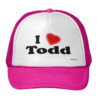 I Love Todd Cap