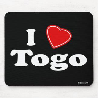 I Love Togo Mouse Pad