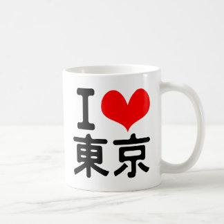 I Love Tokyo Basic White Mug