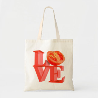 I LOVE TOMATO TOTE BAG