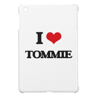 I Love Tommie iPad Mini Cases