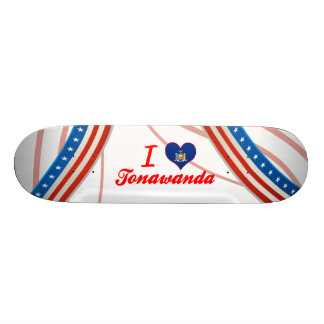 I Love Tonawanda, New York Skate Board