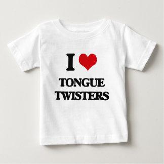 I love Tongue Twisters T-shirts