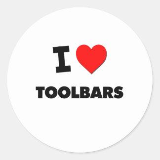 I love Toolbars Sticker