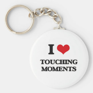 I Love Touching Moments Key Ring