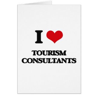 I love Tourism Consultants Card