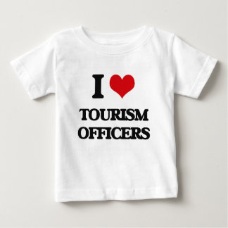 I love Tourism Officers T-shirt