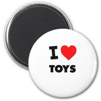 I love Toys 6 Cm Round Magnet