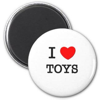 I Love Toys Magnets