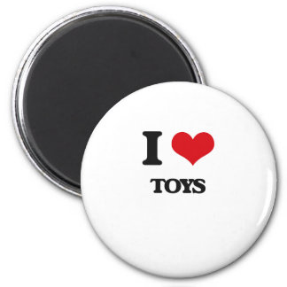 I love Toys 2 Inch Round Magnet
