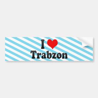 I Love Trabzon, Turkey Bumper Sticker