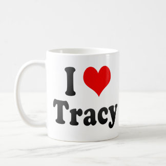 I Love Tracy, United States Coffee Mug
