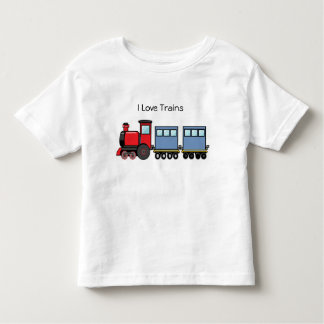 I Love Trains Toddler T-Shirt