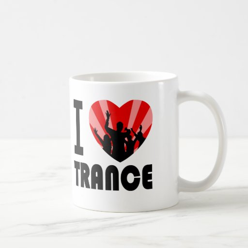 I love Trance Dancers design Mugs