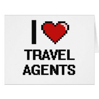 I love Travel Agents Big Greeting Card
