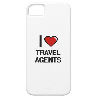 I love Travel Agents Case For The iPhone 5