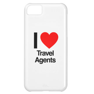 i love travel agents iPhone 5C case