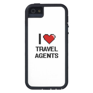I love Travel Agents iPhone 5 Covers