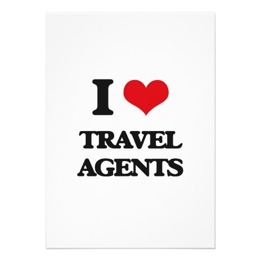 I love Travel Agents Announcements