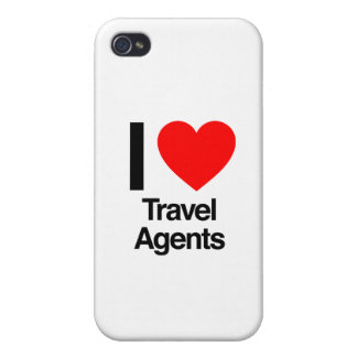 i love travel agents iPhone 4 case