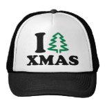 I love tree Xmas Hats