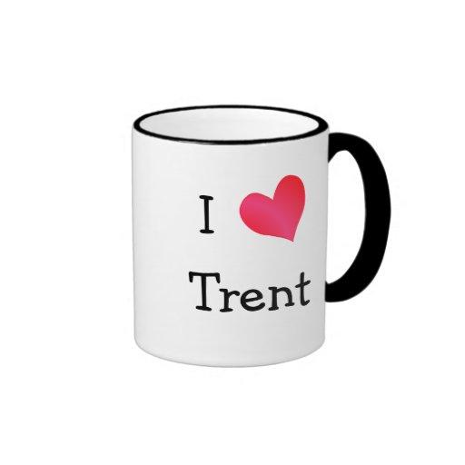I Love Trent Coffee Mugs