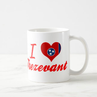 I Love Trezevant, Tennessee Coffee Mug