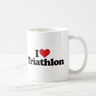 I Love Triathlon Mug
