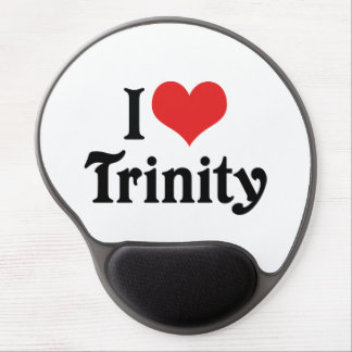 I Love Trinity Gel Mouse Pad