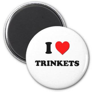 I love Trinkets Fridge Magnets