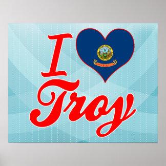 I Love Troy, Idaho Posters