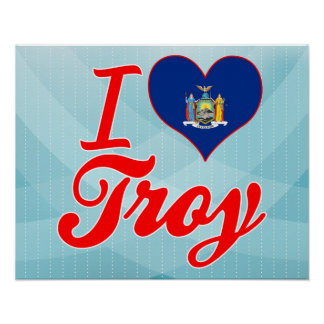 I Love Troy, New York Posters