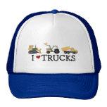 I Love Trucks T-shirts and Gifts Trucker Hat