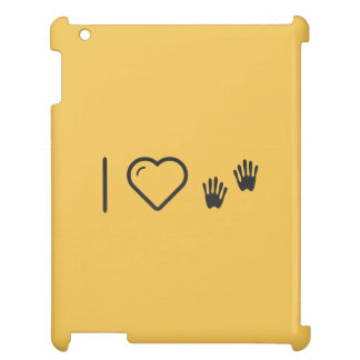 I Love Trusted Hands Cover For The iPad 2 3 4