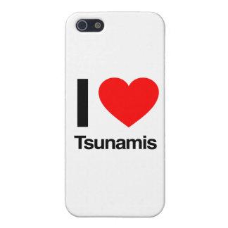 i love tsunamis iPhone 5/5S cases