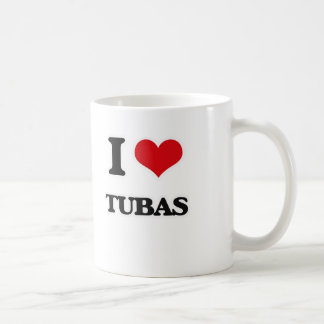 I Love Tubas Coffee Mug