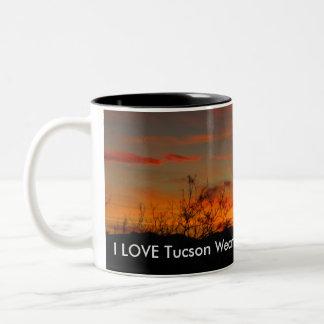 I LOVE Tucson Weather Mug