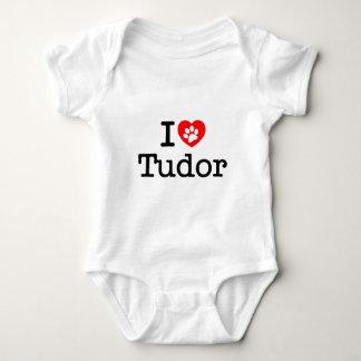 I love tudor baby bodysuit