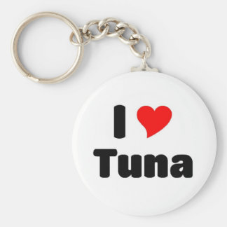 I love Tuna Key Ring