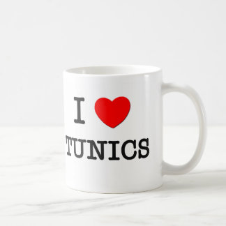 I Love Tunics Mug