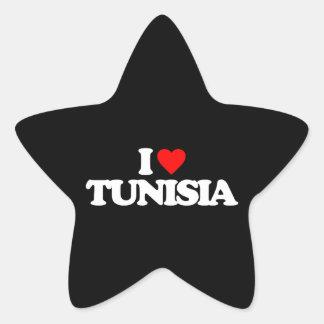 I LOVE TUNISIA STICKERS