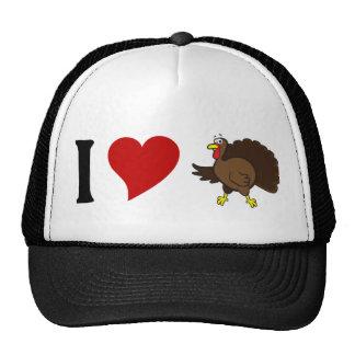 I Love Turkey Cap