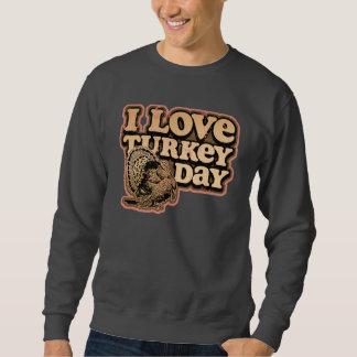 I Love Turkey Day Basic Sweatshirt