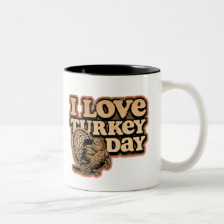 I Love Turkey Day Mug