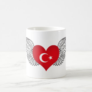 I Love Turkey -wings Coffee Mug